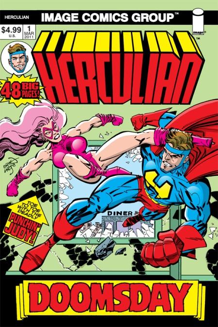 Herculian #1 cover