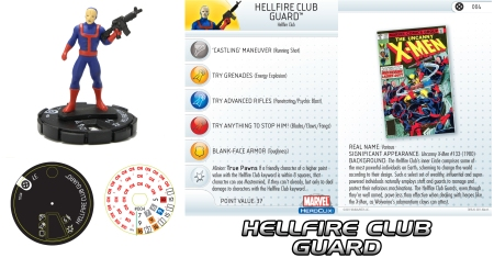 Heroclix Hellfire Club Guards