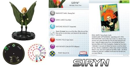 Heroclix Siryn