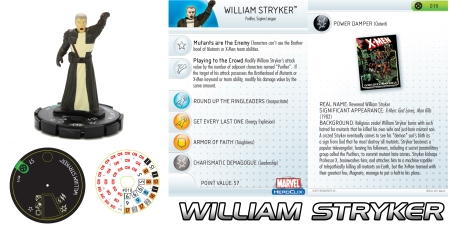 Heroclix William Stryker