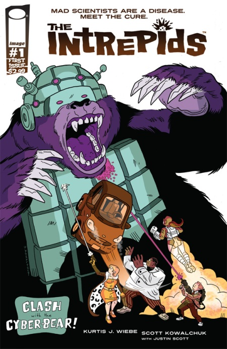 The Intrepids #1 cover