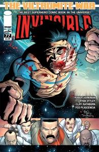 Invincible #77 cover