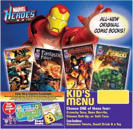 Marvel Taco Bell