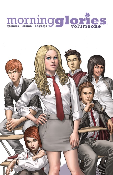 Morning Glories, VOL. 1: For A Better Future TP cover