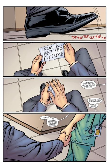 Morning Glories, VOL. 1: For A Better Future TP p1