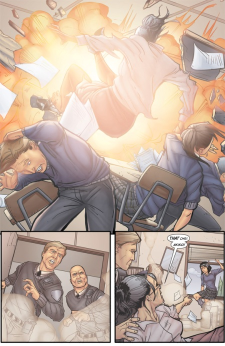 Morning Glories, VOL. 1: For A Better Future TP p4