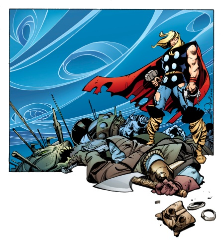 THE MIGHTY THOR #1 SIMONSON VARIANT
