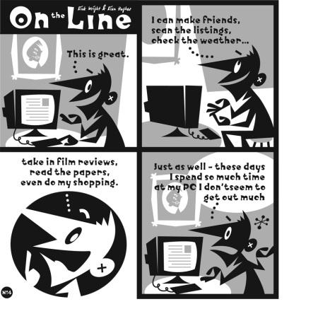 On The Line HC p8