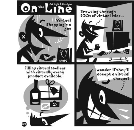 On The Line HC p9