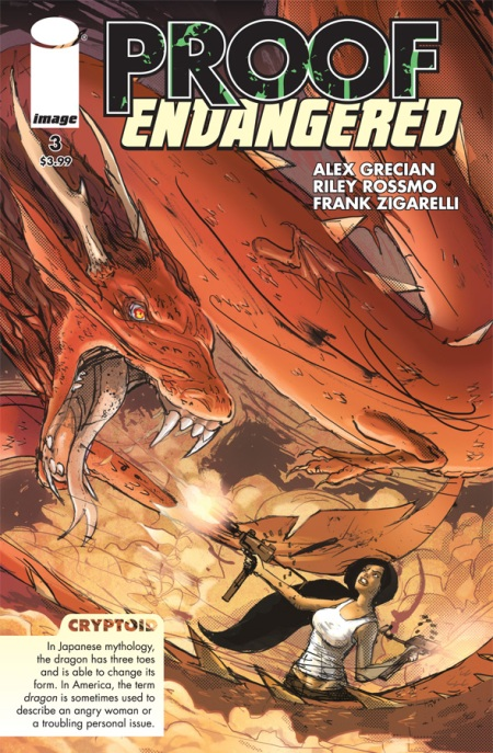 Proof: Endangered #3 cover