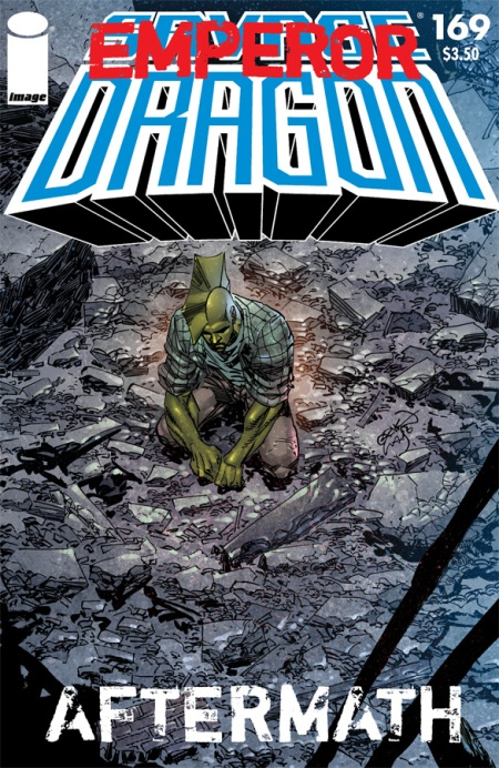 Savage Dragon #169 cover