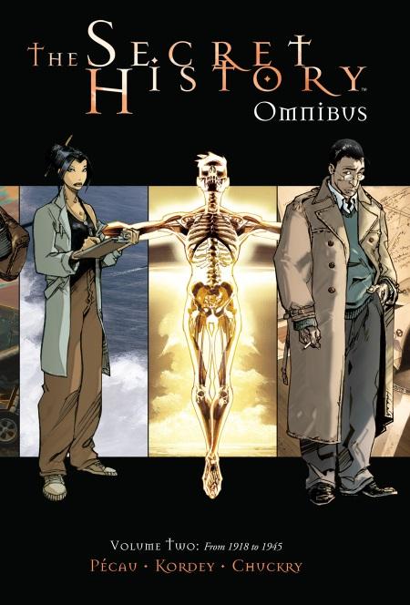 Secret History v2 Omnibus HC Cover