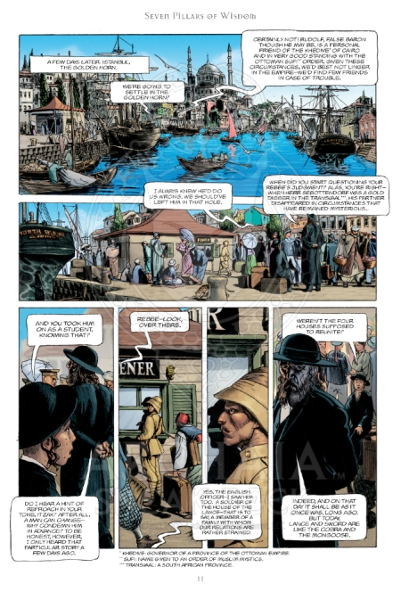 Secret History v2 Omnibus Preview_PG9