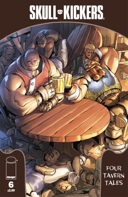 Skullkickers #6 cover