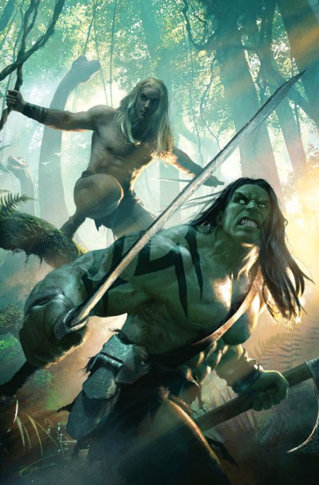 Skaar: King Of The Savage Land #1 COVER