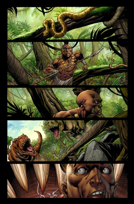 Skaar: King Of The Savage Land #1 Preview1