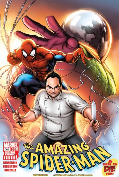 SPIDER-MAN A MEAL TO DIE FOR Cover