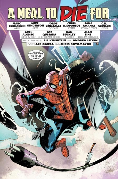 SPIDER-MAN A MEAL TO DIE FOR Preview1