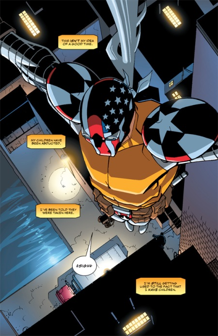 Superpatriot: America's Fighting Force TP p1