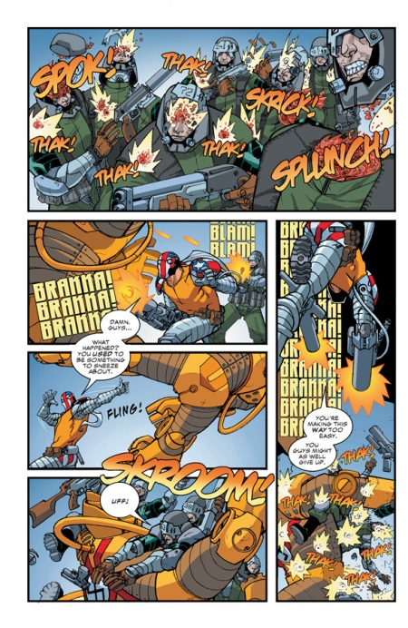 Superpatriot: America's Fighting Force TP p3