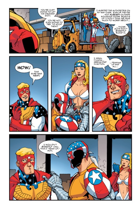 Superpatriot: America's Fighting Force TP p5