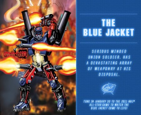 The Blue Jacket