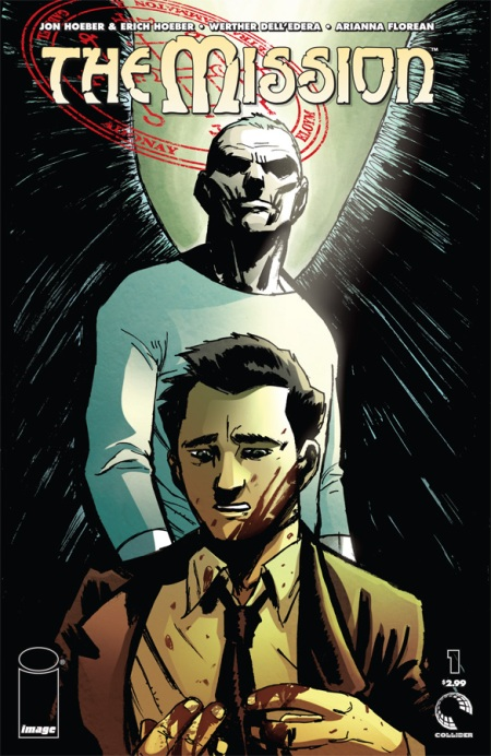 The Mission #1 cover