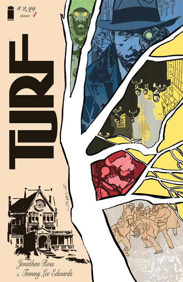 Turf #4 cover