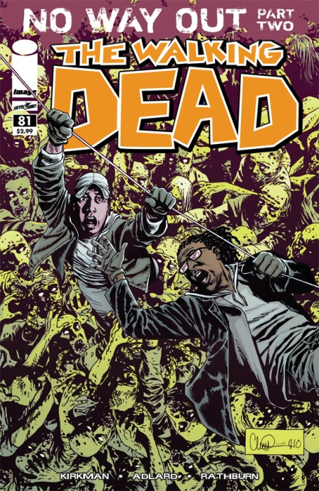 The Walking Dead #81 cover