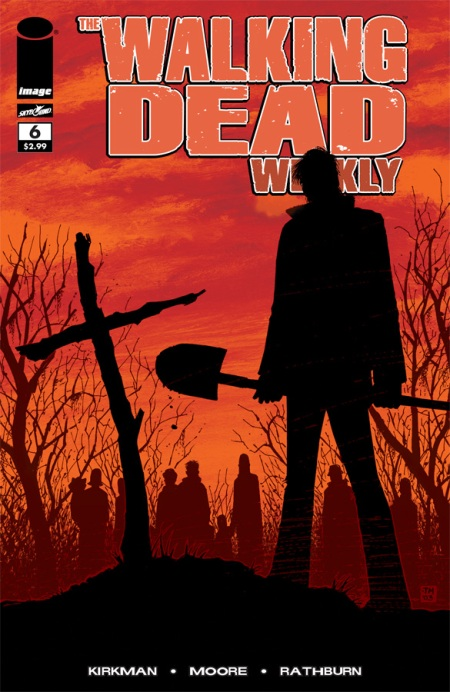 The Walking Dead Weekly #6 cover