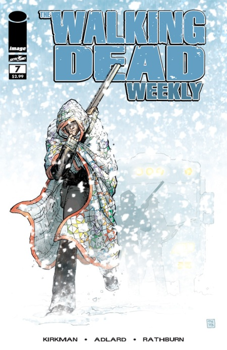 The Walking Dead Weekly #7 cover