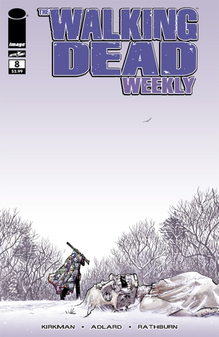 The Walking Dead Weekly #8 cover