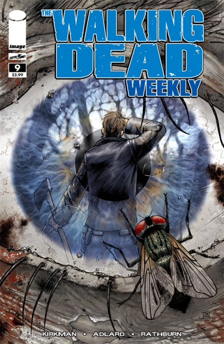 The Walking Dead Weekly #9 cover