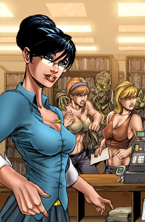The Waking Grimm Fairy Tales #58 exclusive color