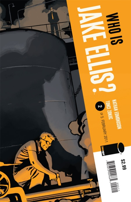 Who Is Jake Ellis? #2 cover