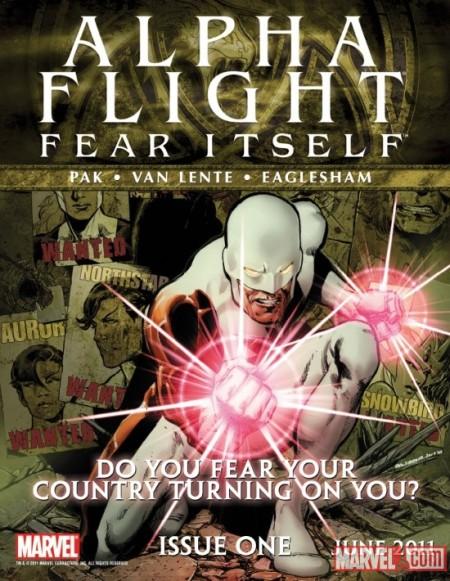 Alpha Flight Poster