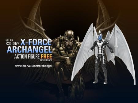 Archangel Figure and BG