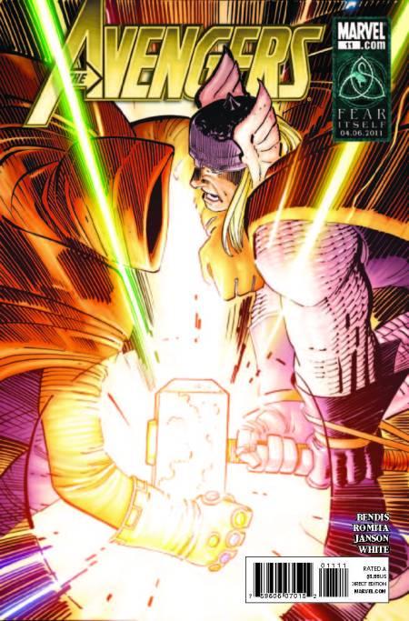 Avengers #11 Cover