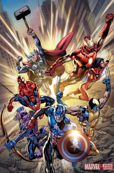 Avengers #12.1 Cover
