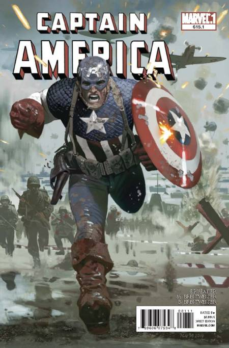 Captain America #615.1 Cover