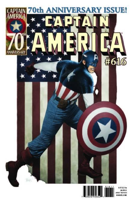 Captain America #616 Cover