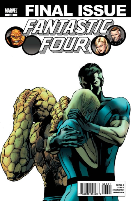FANTASTIC FOUR #588 Second Print Cover