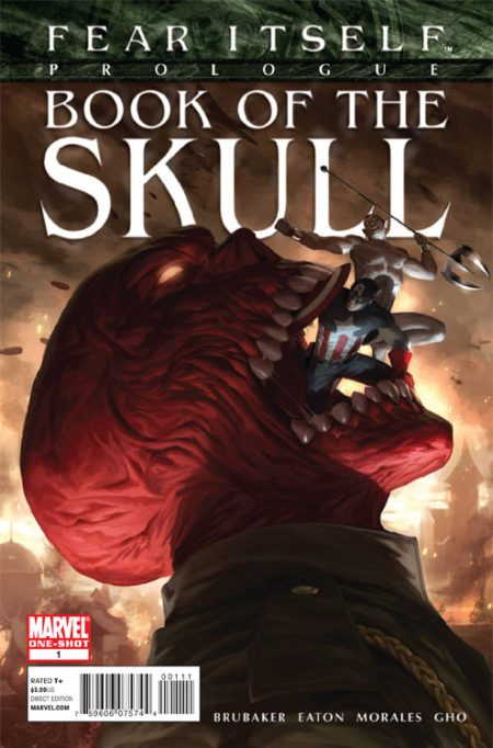 Fear Itself: Book Of The Skull #1 Cover