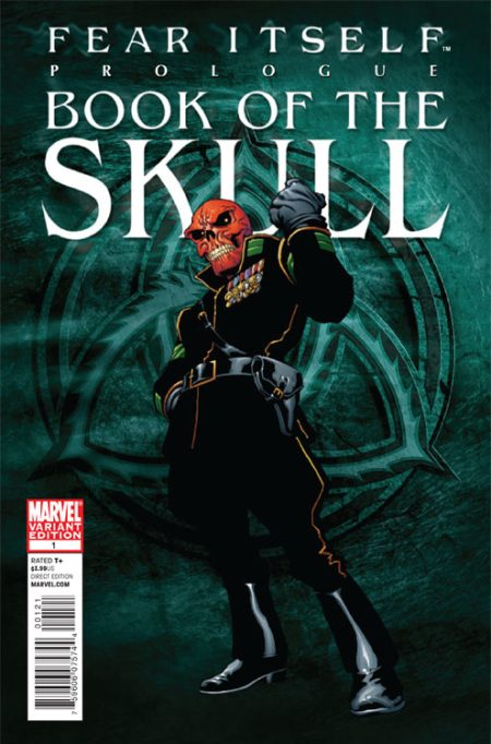 Fear Itself: Book Of The Skull #1 Cover Variant
