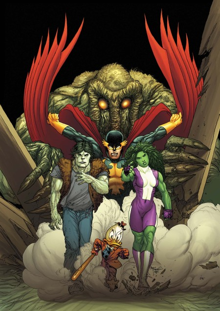 FEAR ITSELF: FEARSOME FOUR #1 Cover