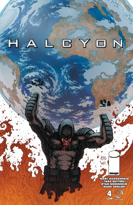 Halcyon #4 cover