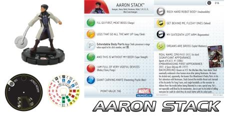 Heroclix Aaron Stack