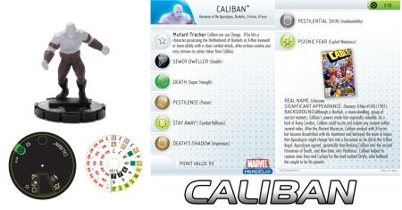 Heroclix Caliban
