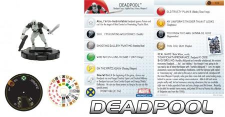 Heroclix Deadpool