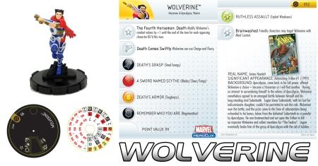 Heroclix Wolverine